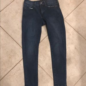 Banana Republic 27 slim skinny jeans. Like New